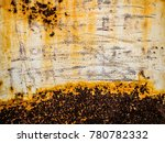 beautiful rusty texture | Shutterstock . vector #780782332