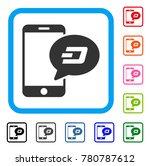 smartphone dash message icon.... | Shutterstock .eps vector #780787612