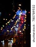 blurred city lights | Shutterstock . vector #780789532