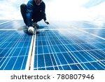 engineer team working on... | Shutterstock . vector #780807946