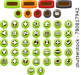 colorful button collection for...