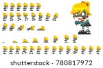 animated zombie character for... | Shutterstock .eps vector #780817972