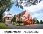 domaine de marie church in da...   Shutterstock . vector #780828382