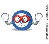 super hero cardano coin...   Shutterstock .eps vector #780835828