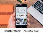 chiang mai  thailand   dec 23... | Shutterstock . vector #780859462