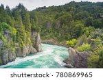 futaleufu river at patagonia ... | Shutterstock . vector #780869965