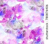 seamless pattern multicolored... | Shutterstock . vector #780876406