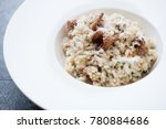 closeup of risotto with... | Shutterstock . vector #780884686