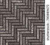 vector abstract seamless... | Shutterstock .eps vector #780889672
