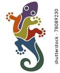 gecko design | Shutterstock .eps vector #78089230
