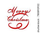 christmas light vector... | Shutterstock .eps vector #780893932