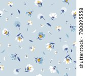 blossom  floral pattern in the... | Shutterstock .eps vector #780895558