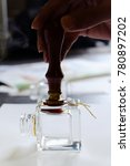 stamping wax seal | Shutterstock . vector #780897202