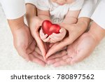 family and heart | Shutterstock . vector #780897562
