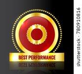 premium best performance icon... | Shutterstock .eps vector #780910816
