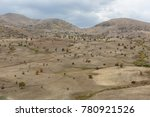 valleys and mountains from... | Shutterstock . vector #780921526