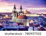 Gothic Tyn Cathedral  Prague...