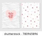 greeting vector card for... | Shutterstock .eps vector #780965896