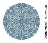 mandala ornament. arabic ... | Shutterstock .eps vector #780998086