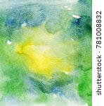 bright painted watercolor... | Shutterstock . vector #781008832