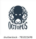 sea logo octopus | Shutterstock .eps vector #781022698