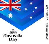 vector illustration of a banner ... | Shutterstock .eps vector #781088125