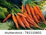 vegetables on the counter   Shutterstock . vector #781110802