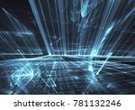 fractal art   computer image ...   Shutterstock . vector #781132246