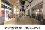 shoppers and tourists at... | Shutterstock . vector #781133926