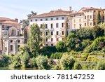 medieval city bassano del grappa   Shutterstock . vector #781147252