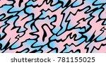 rectangular background of... | Shutterstock .eps vector #781155025