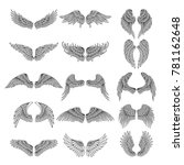 tattoo design pictures of... | Shutterstock .eps vector #781162648