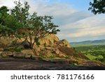 beautiful view of the savanna... | Shutterstock . vector #781176166