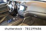 wide view of modern car... | Shutterstock . vector #781199686