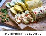 homemade butter with papper   Shutterstock . vector #781214572