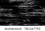 distressed black and white... | Shutterstock .eps vector #781267792
