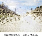 the beautiful abstract mixed... | Shutterstock . vector #781275166