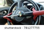anti theft car steering wheel... | Shutterstock . vector #781277755