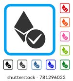 valid ethereum crystal icon....