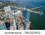 aerial photo of highrise towers ... | Shutterstock . vector #781322902