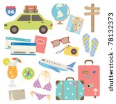 vector illustration of design... | Shutterstock .eps vector #78132373