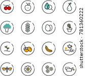 line vector icon set  ...   Shutterstock .eps vector #781360222