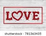 festive web banner for... | Shutterstock . vector #781363435