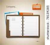website template   Shutterstock .eps vector #78139285