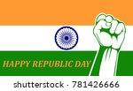illustration of india republic... | Shutterstock . vector #781426666