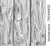 vector set of hand drawn... | Shutterstock .eps vector #781446832