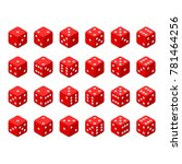 24 Isometric Dice. Twenty Four...