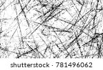 distressed black and white... | Shutterstock .eps vector #781496062