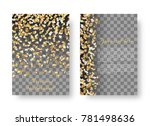 new year shiny background... | Shutterstock .eps vector #781498636