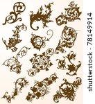 flourish collection | Shutterstock .eps vector #78149914